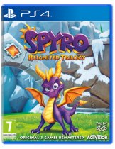 Диск Spyro Reignited Trilogy [PS4]