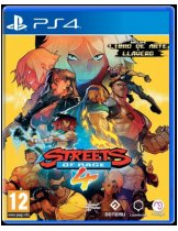 Диск Streets of Rage 4 [PS4]