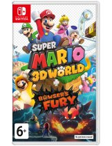 Диск Super Mario 3D World + Bowsers Fury [Switch]