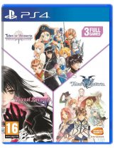 Диск Tales of Vesperia + Tales of Berseria + Tales of Zestiria Compilation [PS4]