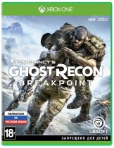 Диск Tom Clancy's Ghost Recon Breakpoint (Б/У) [Xbox One]