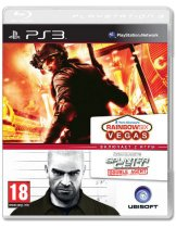 Диск Tom Clancys Splinter Cell Double Agent & Tom Clancys Rainbow Six Vegas Double Pack [PS3]