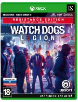 Диск Watch Dogs: Legion - Resistance Edition [Xbox One]