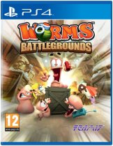Диск Worms Battlegrounds [PS4]