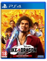 Диск Yakuza: Like a Dragon — Day Ichi Edition [PS4]