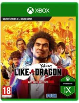 Диск Yakuza: Like a Dragon — Day Ichi Edition [Xbox One]