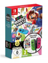 Аксессуар Joy-Con Bundle (Neon Green/Neon Pink) + игра Super Mario Party