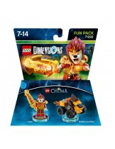 Обложка Lego Dimensions - Legend of Chima - Laval Fun Pack