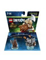 Обложка Lego Dimensions - Lord of the Rings - Gimly Fun Pack