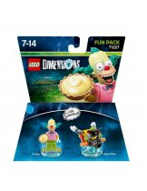 Обложка Lego Dimensions - The Simpsons - Krusty Fun Pack