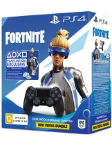 Sony Dualshock 4 v2, чёрный (CUH-ZCT2E) + Fortnite Neo Versa Bundle