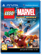 Купить LEGO Marvel Super Heroes [PS Vita]