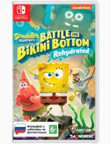 Купить SpongeBob SquarePants: Battle For Bikini Bottom - Rehydrated [NSwitch]