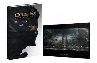 Диск Руководство - Deus Ex: Mankind Divided Limited Edition