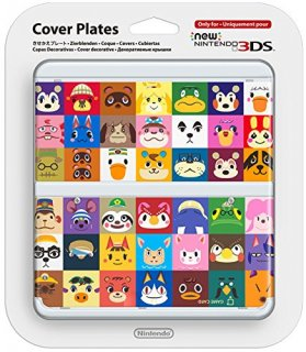 Диск Faceplate (лицевая панель) New Nintendo 3DS (Animal Crossing) (Б/У)