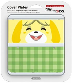 Диск Faceplate (лицевая панель) New Nintendo 3DS (Isabelle)