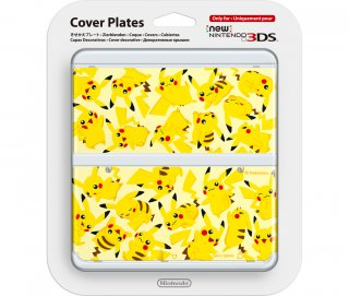 Диск Faceplate (лицевая панель) New Nintendo 3DS (Pikachu)