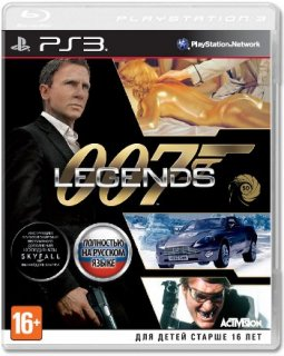 Диск 007 Legends (Б/У) [PS3]