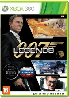 Диск 007 Legends [X360]