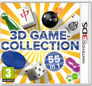 Диск 3D Game Collection 55-in-1 [3DS]