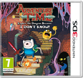 Диск Adventure Time: Explore the Dungeon Because I DON'T KNOW! [3DS]