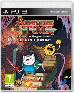 Диск Adventure Time Explore The Dungeon Because. I DON'T KROW! [PS3]