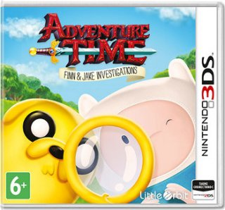 Диск Adventure Time: Finn and Jake Investigations [3DS]