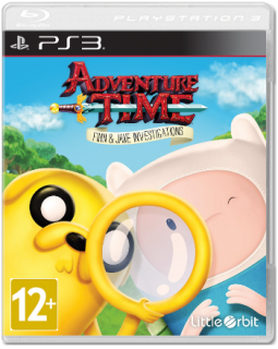Диск Adventure Time: Finn and Jake Investigations [PS3]