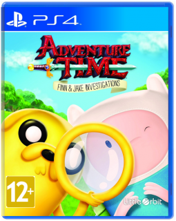 Диск Adventure Time: Finn and Jake Investigations [PS4]