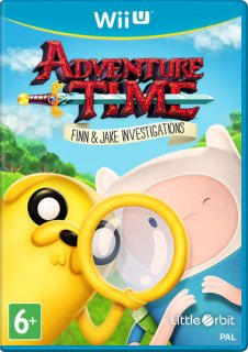 Диск Adventure Time: Finn and Jake Investigations [Wii U]