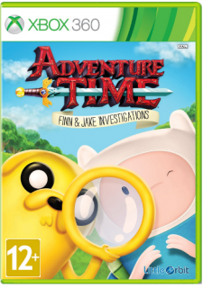 Диск Adventure Time: Finn and Jake Investigations [X360]