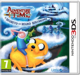 Диск Adventure Time: The Secret of the Nameless Kingdom [3DS]