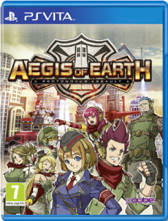 Диск Aegis of Earth: Protonovus Assault [PS Vita]