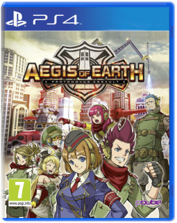 Диск Aegis of Earth: Protonovus Assault [PS4]