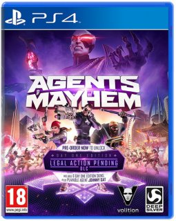Диск Agents of Mayhem (Б/У) [PS4]