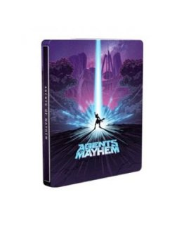 Диск Agents of Mayhem - Steelbook Edition [PS4]