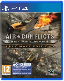 Диск Air Conflict: Secret Wars Ultimate Edition [PS4]