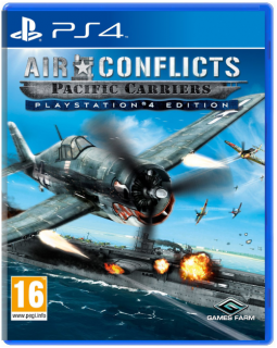 Диск Air Conflicts: Pacific Carriers [PS4]