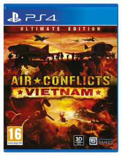 Диск Air Conflicts: Vietnam Ultimate Edition [PS4]