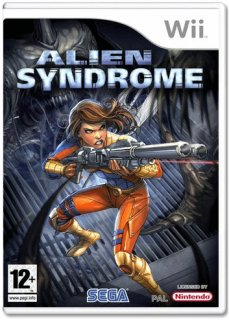 Диск Alien Syndrome [Wii]