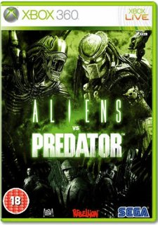 Диск Aliens vs Predator (Б/У) [X360]