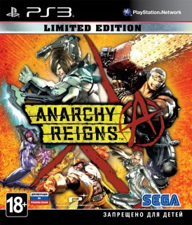 Диск Anarchy Reigns - Limited Edition [PS3]