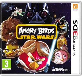 Диск Angry Birds - Star Wars [3DS]