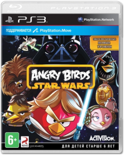Диск Angry Birds - Star Wars [PS3]