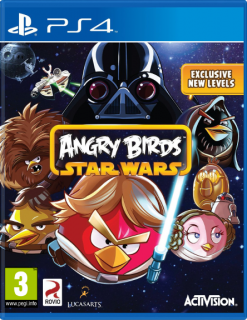 Диск Angry Birds - Star Wars [PS4]