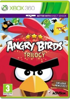 Диск Angry Birds Trilogy [X360]