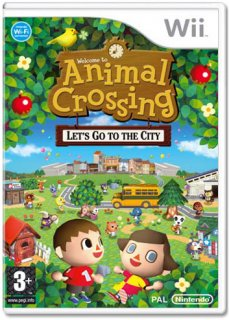 Диск Animal Crossing: Let's Go to the City [Wii]