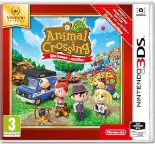 Диск Animal Crossing: New Leaf - Welcome Amiibo [3DS]