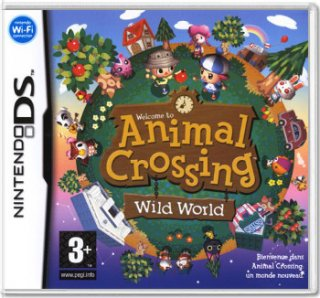 Диск Animal Crossing: Wild World (US) (Б/У) (без коробочки) [DS]