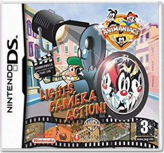 Диск Animaniacs: Lights, Camera, Action! [DS]